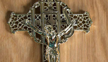 Ornate crucifix
