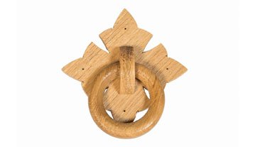 Polished Oak Wooden ring