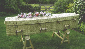 Bamboo Eco Coffin