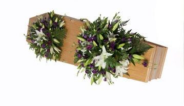 Small & Large single-ended coffin sprays